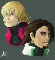 :: tiger and bunny by biscuitcrumbs