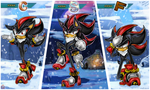 CE:  Shadow rank poses by shadowhatesomochao