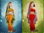 The Wives of lord Karatikeya by primakyria