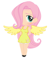 My little Fluttershy by Vejit