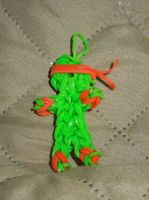 Loom Charm: TMNT: Mikey (revised) by Culinary-Alchemist