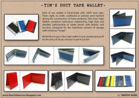 Duct Tape Wallet by tkyzgallery