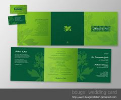 wedding card 001 by bougexhibition