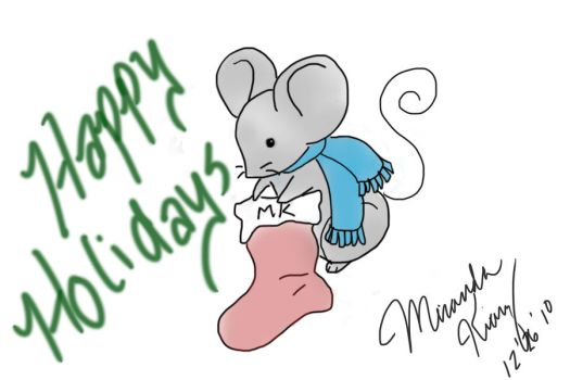 Digital Art Take 1 Mouse by AnUnimaginaryKid