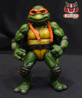 TMNT THE MOVIE 1990 REPAINT 13 by wongjoe82