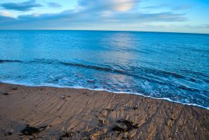 Beach at Arbroath by SqueezeBoxx