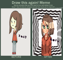 Draw This Again Meme by Hiimecchi20