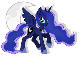 Princess of the Moon by AoiOokami516