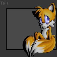 Tails again. by miri-kun