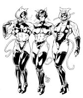 The Steel Kittens by hardbodies