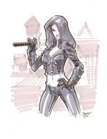Commission Talia-al-Ghul by rantz