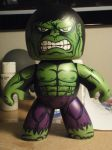 Custom Hulk Mighty Mugg by kirelestat