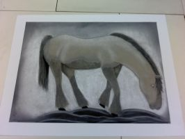 Horse Drawing by xSweet-blasphemyx