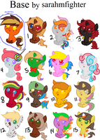 Candy Themed Adopts. ::CLOSED:: by Sonicgirlify