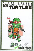 Raphael comic cover by johnnyism