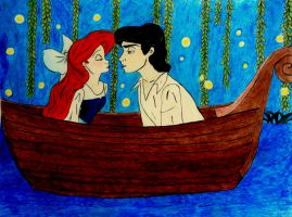 Ariel and Eric- Kiss the Girl by avadaxxxkedavra