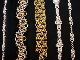 various chains by Meat-Eating-Orchid