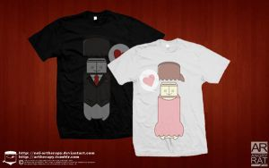 flash in love tees by NOF-artherapy