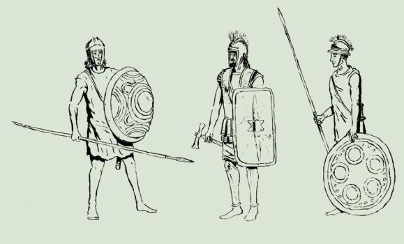 Illyrian warriors by TheNicator