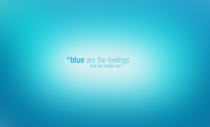 Wallpaper - blue are by devzign