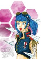 miss paper planes by BelialMadHatter