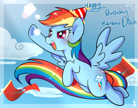 Happy Birthday Rainbow Dash! by Haden-2375