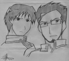 Roy MustanG AnD Maes HugheS by emina24