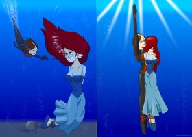 Ariel's rescue by UWfan-Tomson