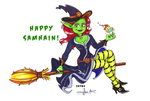 Sofie the Samhain witch by TheOttselMaster
