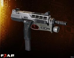 MP-970 [F3AR] by Goreface13