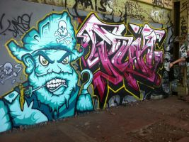 powerhouse 100 by PerthGraffScene