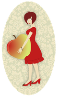 Apple Girl by Exploding-Zombies