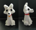 Felted Westie by Psychotic-Bambi
