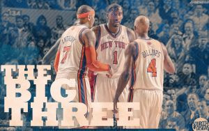 Knicks Big Three Wallpaper by IshaanMishra