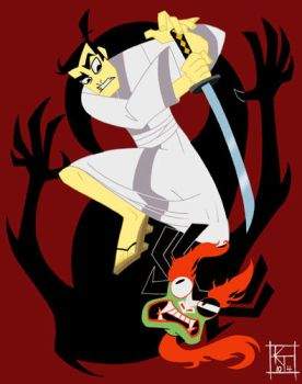 Samurai Jack by ktshy