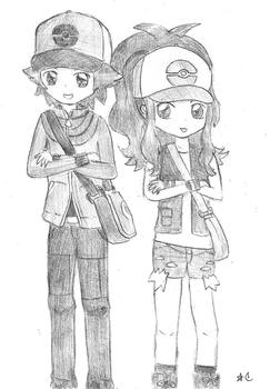 Pokemon: Black and White by Crayon-Dust