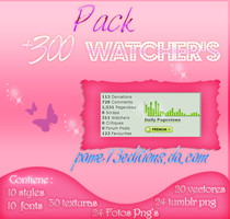 Pack:  +300 Watcher's by pame13editions