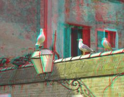 Venice 19 3D Anaglyph by yellowishhaze