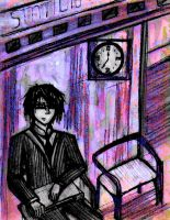 Waiting for the train by andro0meda