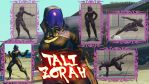 Super street fighter 4 PC - TALI ZORAH by Siegfried129