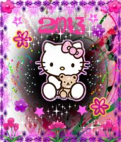Hello Kitty 2013 Wallpaper 3 by Blood-Soaked