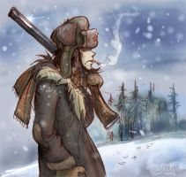 Jigen in Siberia... by Dasha-KO