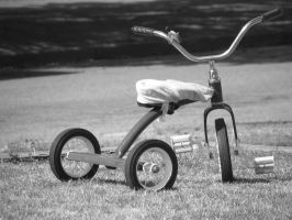 a tricycle by snacktime