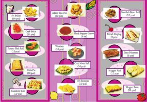 Food Brochure Design1 : Round - inside by dindaseh