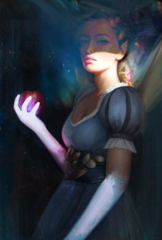 Glowing hands by gogo1409