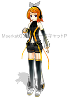 XS Hagane Rin Append WIP by MeerkatQueen