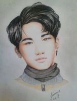Traditional Kim Kibum by Pulimcartoon