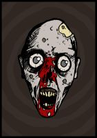 Zombie Face by Scabeater