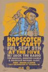 Hopscotch 'Hive Day Party' 2014 Poster by thedigitalgeorge