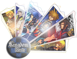 Kingdom Hearts Heros by blueaqua77